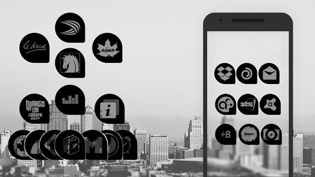 Oscuro Icon Pack