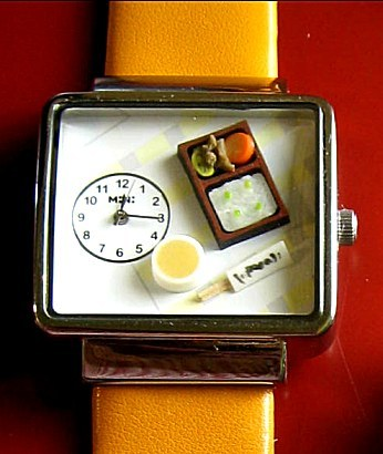 Un reloj que te abrirá el apetito