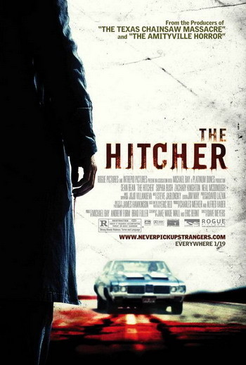 Póster de 'The Hitcher', remake de 'Carretera al Infierno'