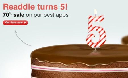 Readdle celebra su quinto cumpleaños con importantes descuentos