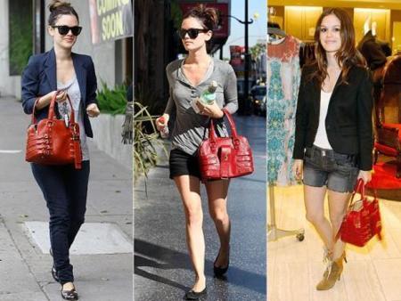 Los bolsos favoritos de las famosas: Olivia Palermo, Rachel Bilson y Alexa Chung