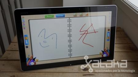 Sony Vaio Tap 20 análisis dibujo