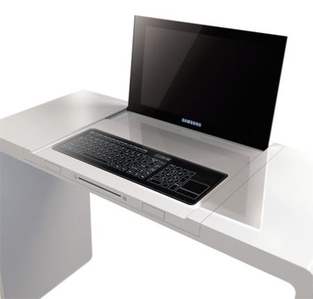 Samsung DesCom, concepto de mesa con ordenador