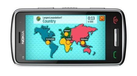 Nokia C6 con GPS