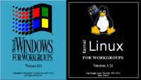Linux for Workgroups, es el nombre del Kernel 3.11