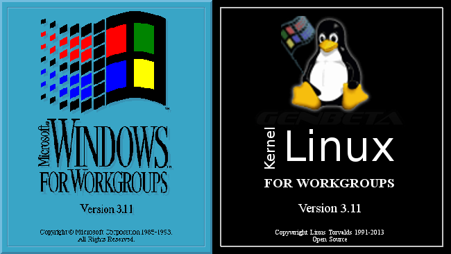 Windows vs Linux 3.11 para trabajo en grupo