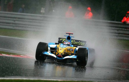 Alonso Renault F1 2005