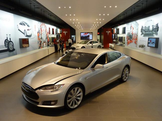 Concesionario Tesla en Portland, Oregón