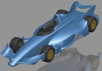 BAT Engineering presenta su concepto para la futura IndyCar Series