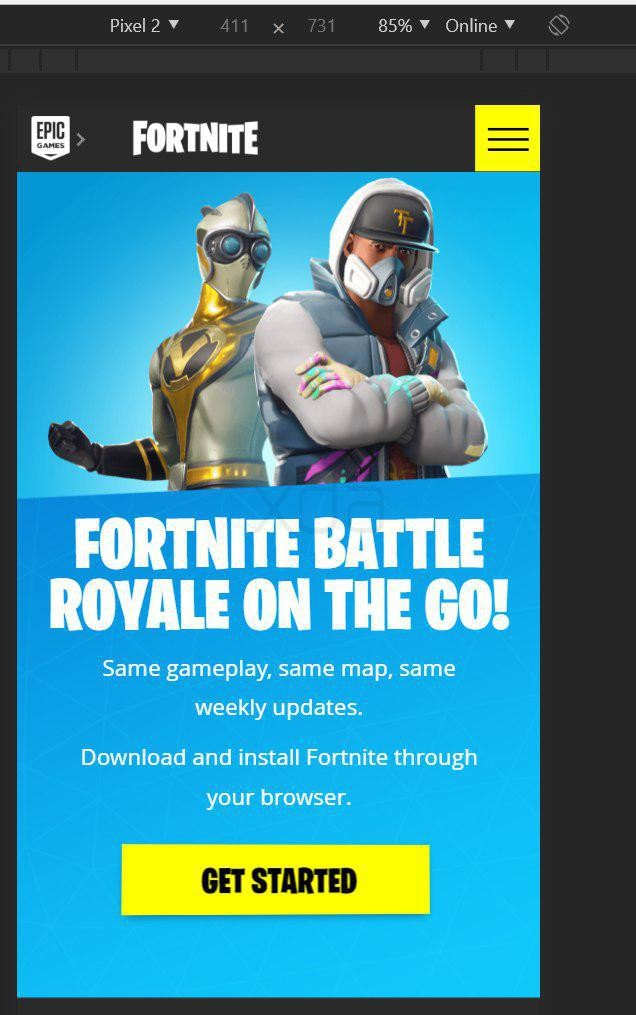 Fortnite Mobile On Android™ Google™ Play Store 5