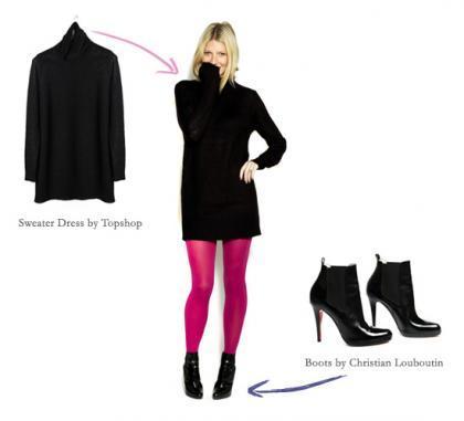 Cómo llevar un vestido negro, por Gwyneth Paltrow