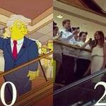 Cazadores de fakes: no, Los Simpsons no mostraron a un Trump presidente en el 2000