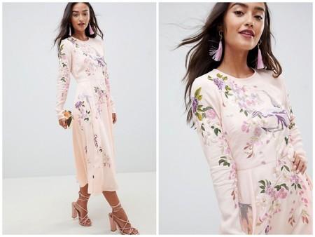 Vestido Rosa Asos