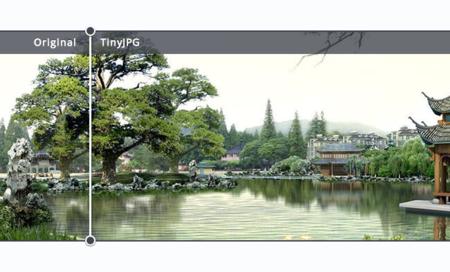 TinyJPG nos comprime las imágenes conservando su calidad desde su misma web