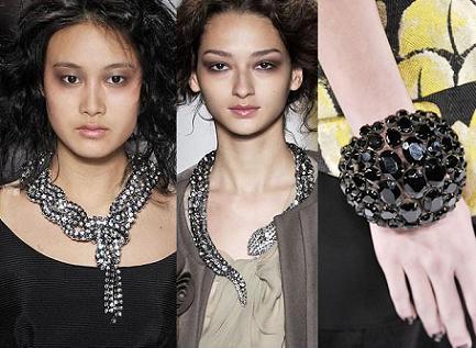 Las joyas enormes de la colección de Vera Wang