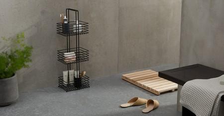baño estanteria pequeña