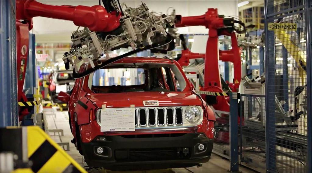 Fábrica Jeep Renegade