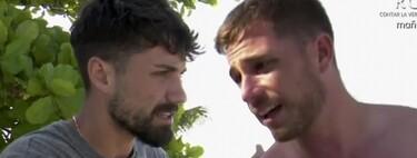 Tom Brusse estalla contra Alejandro Albalá por ser un maestro liendre (que de todo sabe y de nada entiende) en 'Supervivientes 2021'