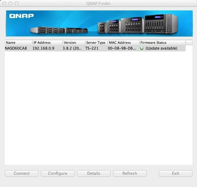 QNAP Finder, un programa que no sólo nos indica cuál es la IP del NAS, sino que nos ayuda en la configuración y actualización del NAS