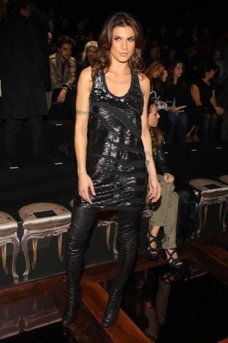 Celebrities en la Semana de la Moda de Milán, Elisabetta Canalis I