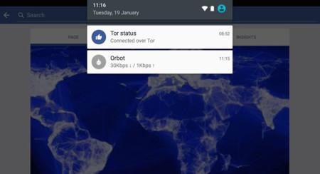 Facebook para Android incluirá soporte para conexiones seguras mediante Tor, muy pronto