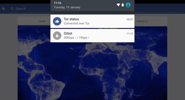 Tor Facebook