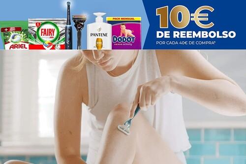 10 euros de regalo en artículos Ariel, Pantene, Gillette, Fairy u Oral-B por cada 40 euros de compra en Amazon por tiempo limitado