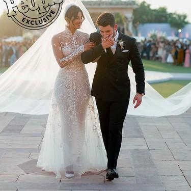 Revive los increíbles looks que vistió Nick Jonas en su boda con Priyanka Chopra