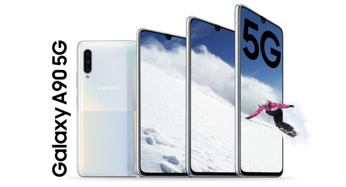 Samsung Galaxy A90 5G: el primer gama media de Samsung en tener 5G, Snapdragon 855 y Samsung DeX