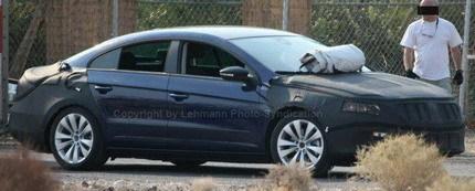 Volkswagen Passat Coupé, fotos espía