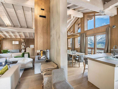 Este Chalet en los Alpes te dará ganas de salir de vacaciones