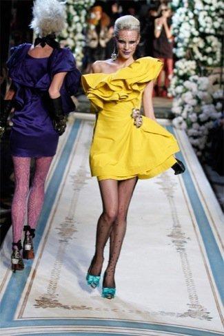 Lanvin HM, colección Alta Costura, vestido volantes