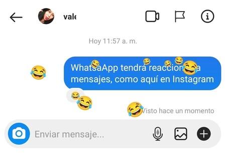 WhatsApp tendrá reacciones para mensajes, según WABetaInfo: ya trabaja en la función que tomará prestada de Facebook e Instagram