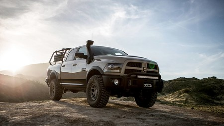 AEV Recruit Ram 1500: un prototipo que adelanta una brutal pick-up pensada para el off-road