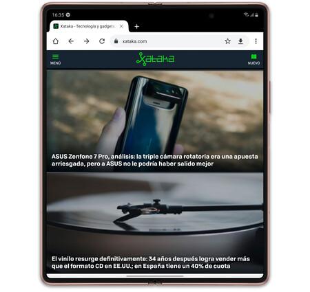 Samsung Galaxy Z Fold 2 02 Interfaz