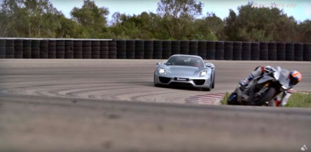 We are all racers – Episode 3: Porsche 918 Spyder VS Yamaha YZF-R1