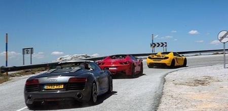 Top Gear le saca partido a la crisis española...creando un circuito urbano