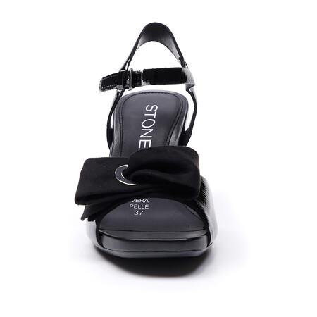 Zapatos Negros Navidad