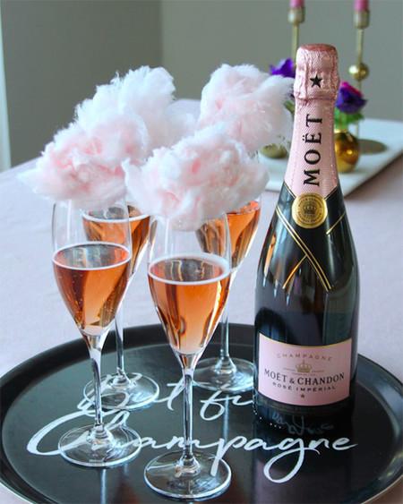 Cotton Candy Champagne Coctel Para La Navidad 2
