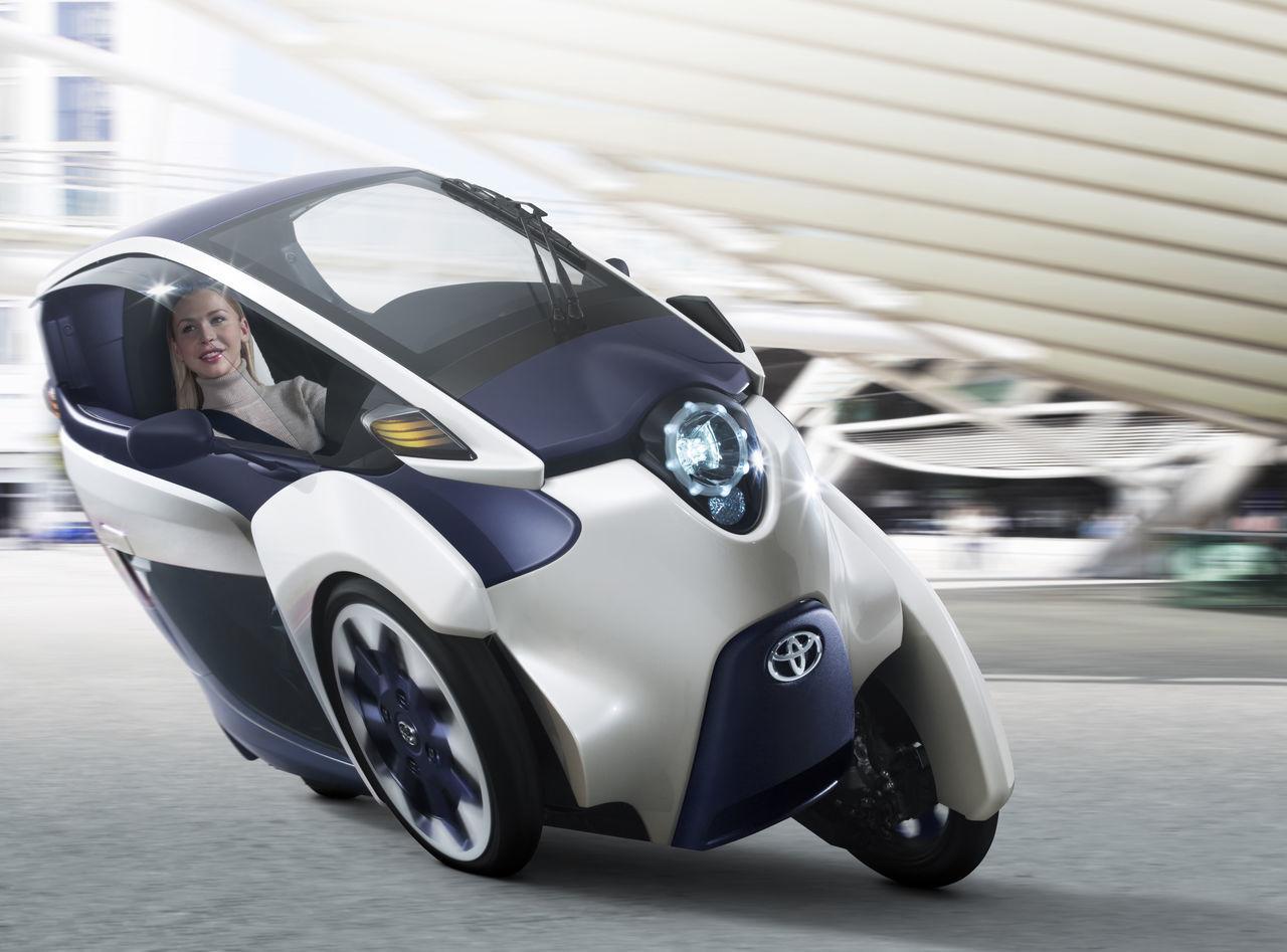 Foto de Toyota i-Road (prototipo) (1/14)