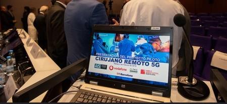 Cirujano Remoto Vodafone 5g