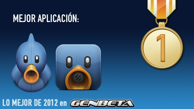 mejor aplicación 2012 genbeta tweetbot