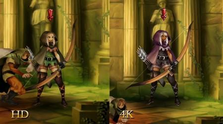 El nuevo vídeo comparativo de Dragon's Crown Pro nos muestra cómo se ve si se juega en 4K