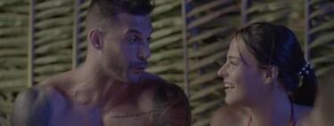 Marta Peñate se refugia en la manguera de Edu tras el chihuahueo de Lester y Elisa en 'La Isla de las Tentaciones 2'