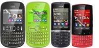 Nokia Asha 200, 201, 300 y 303: destinados a conectar a los que todavía no conocen Internet móvil