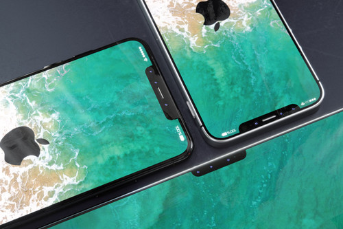 ¡Notch para todos! Un concepto imagina los productos de Apple con la península del iPhone X