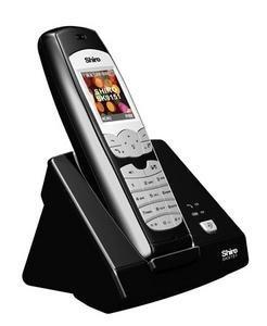 Shiro SK9151, teléfono DECT para Skype