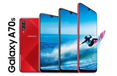 Galaxy A70s: llega el primer smartphone de Samsung con cámara de 64 megapixeles, y es posible que lo veamos en México