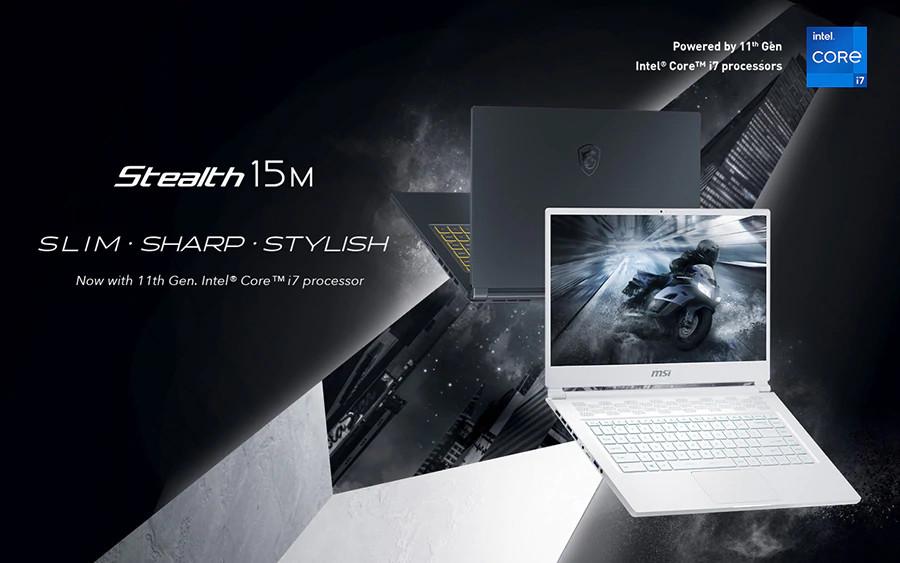 MSI Stealth 15M: el mas reciente portátil gaming de MSI posee un grosor de 16 mm y monta inclusive un Intel i7 de 11ª generación