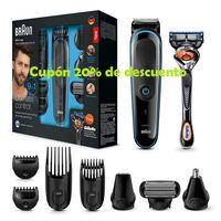 Cupón del 20% de descuento en depiladoras y afeitadoras Braun en Amazon
